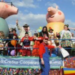 carro peppa pig carnevale 2014