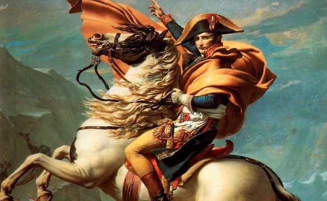 Bonaparte valica il Gran San Bernardo Dipinto di Jacques-Louis David